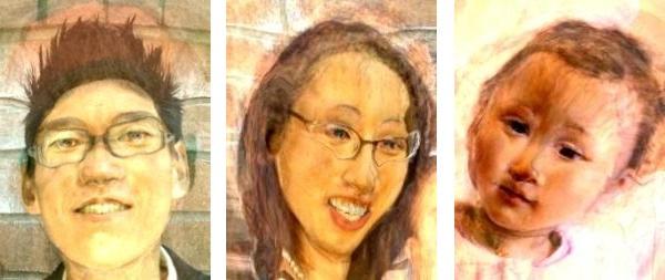 Tim, Olive, Allie - Botticelli