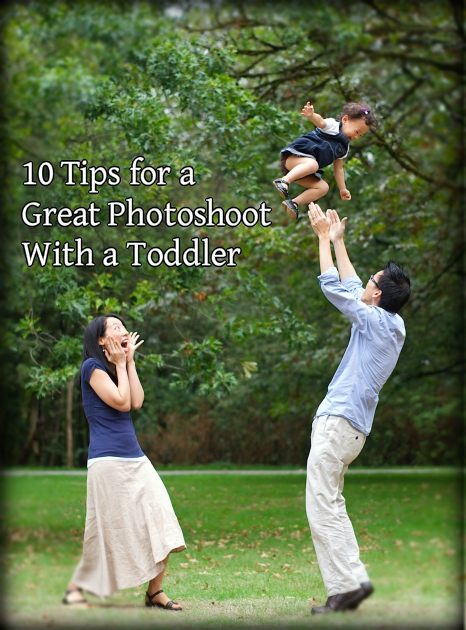 10 tips for a great photoshoot with a toddler
