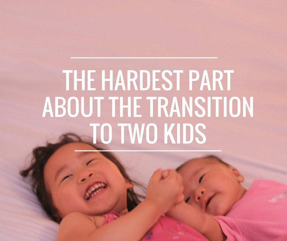 The Hardest Part About The Transition to Two Kids