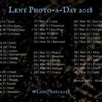 Lent Photo-a-Day 2018