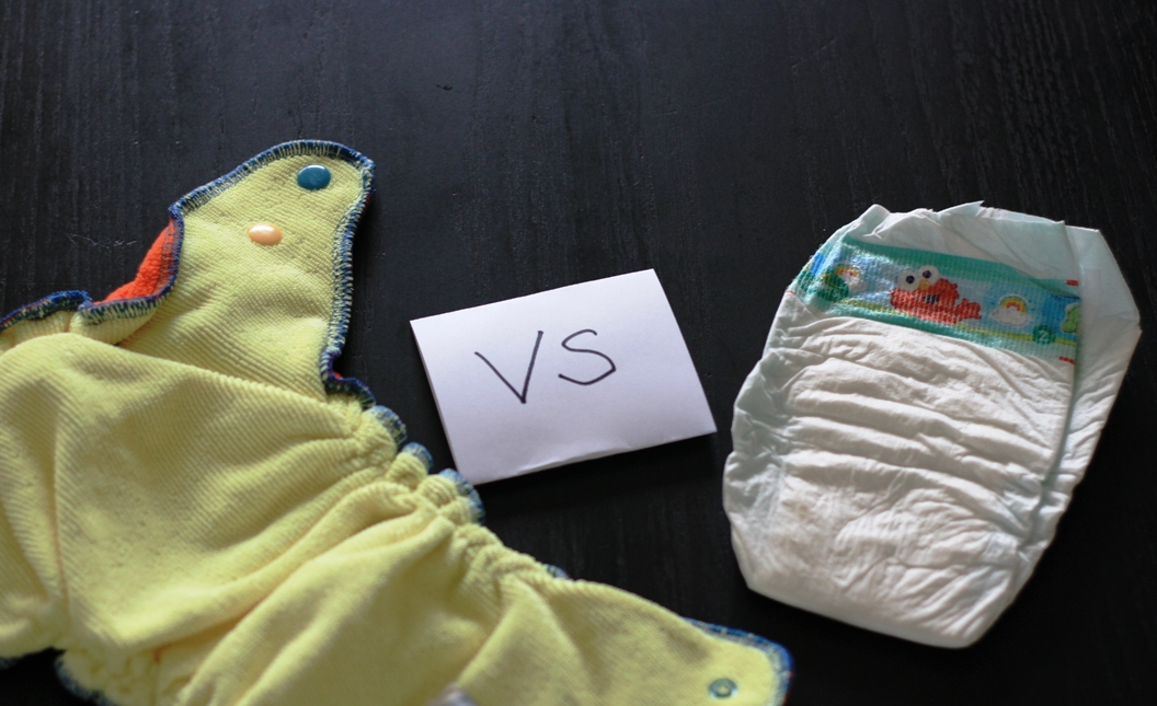 Cloth vs Disposable Diapers | Tim and Olive