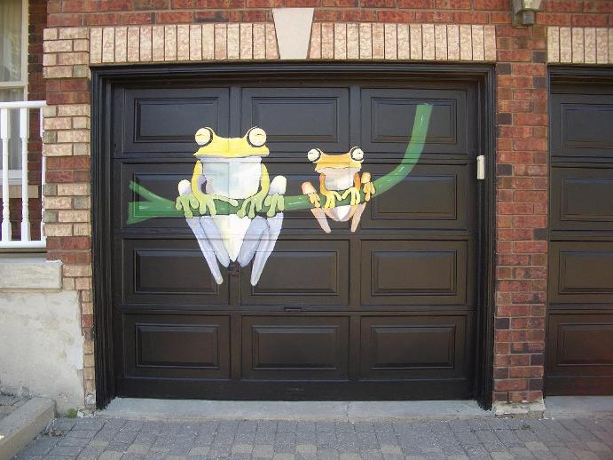 Painting For Garage Door